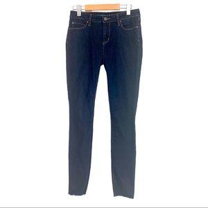 Articles of Society Frayed Hem Skinny Jeans